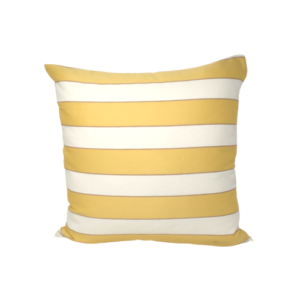 Golden Stripes Pillow