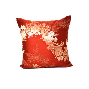 Modern East Red Pillow
