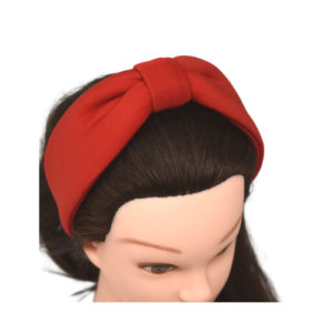 Knotted Red Headband